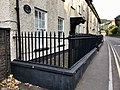 Gates and railings to 4 Pen-Y-Pound Road, Abergavenny, October 2018.jpg