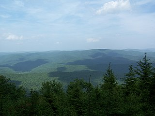 Gaudineer Knob mountain in United States of America