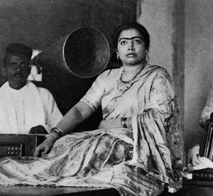 Tawaif - Singer and dancer, Gauhar Jaan (1873–1930)