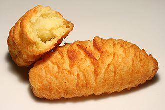 Croquette - Baked croquettes from Austria