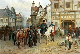Gebhard Leberecht von Blücher - Gebhard Leberecht von Blücher in Bautzen by Bogdan Willewalde (1885).