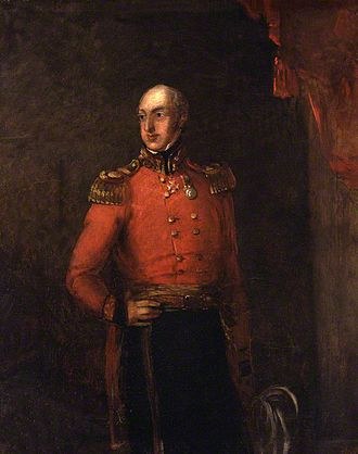 1842 retreat from Kabul - General William Elphinstone; he was ill when he was given command of British forces in Afghanistan in 1841.