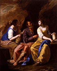 Gentileschi, Artemisia - Lot and his Daughters - 1635-1638