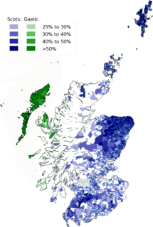 Languages of Scotland Languages of a geographic region