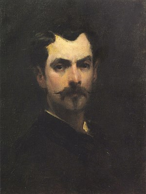 George Demetrescu Mirea - Self-portrait (date unknown)