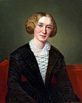 George Eliot, por François D'Albert Durade.jpg (Retrat de George Eliot)