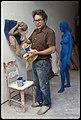 George Segal artist, in New Jersey studio.jpg