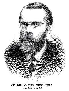 George Walter Thornbury British writer