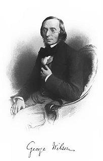 George Wilson (chemist) Scottish chemist, Regius Professor of Technology at the University of Edinburgh (1818-1859)