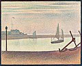 Georges-Pierre Seurat - The Channel at Gravelines, Evening - Google Art Project.jpg