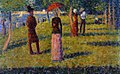 Georges Seurat - The Rope-Colored Skirt PC 118.jpg