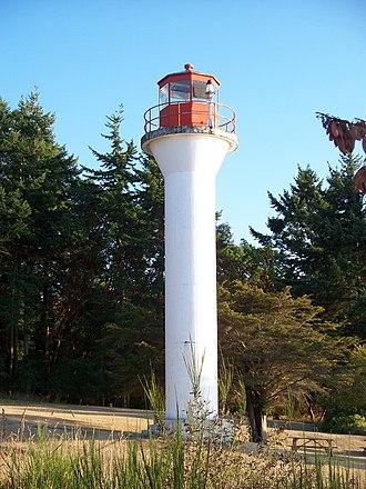 Gulf Islands National Park Reserve - Lighthouse at Georgina Point on Mayne Island