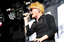 Gerard Way Big Day Out 2012 2.jpg