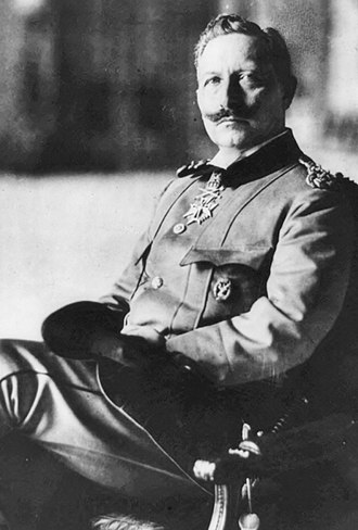 Wilhelm II, German Emperor - Portrait of Wilhelm II in 1915.