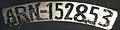 Germany motorcycle license plate ARN152853 1906-1945.jpg