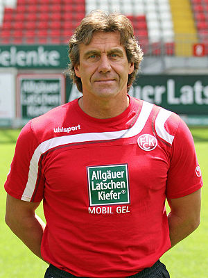 Gerald Ehrmann - Ehrmann with Kaiserslautern in 2011.