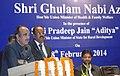 Ghulam Nabi Azad announced the Super Specialty upgradation of Maharani Laxmi Bai Medical College, Jhansi under Pradhan Mantri Swasthya Suraksha Yojana (PMSSY) Phase III, at a function.jpg