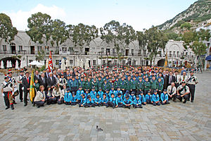 Scout group - The 1st/4th Gibraltar Scout Group, an Overseas Branch of The Scout Association of the United Kingdom.