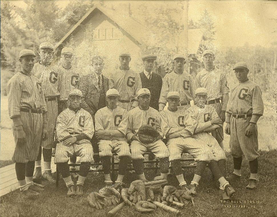 Gilman High School baseball team 1922
