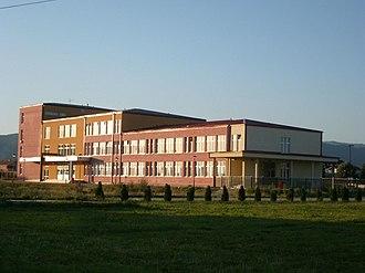 Bujanovac - Image: Gimnazi Sezai Suroi Bujanovc panoramio