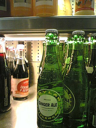 Ginger ale - Bottled ginger ale