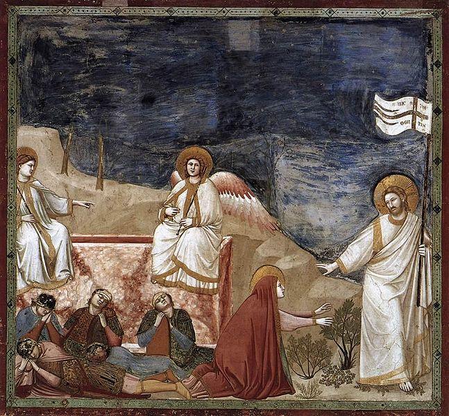 File:Giotto di Bondone - No. 37 Scenes from the Life of Christ - 21. Resurrection (Noli me tangere) - WGA09224.jpg