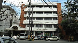Girl Scouts of the Philippines - Facade of the National Headquarters Padre Faura Ermita Manila