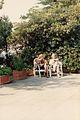 Giuseppe Cassieri Mariella Tedeschi Terrazza Gaeta 1991.jpg