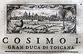 Giuseppe maria bianchini, Dei Granduchi di Toscana della real Casa De' Medici, per gio. battista recurti, venezia 1741, 10 cosimo I 4 firenze.jpg