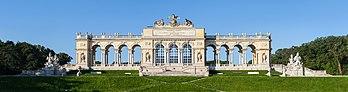 La gloriette du château de Schönbrunn (Autriche). (définition réelle 18749×4932)