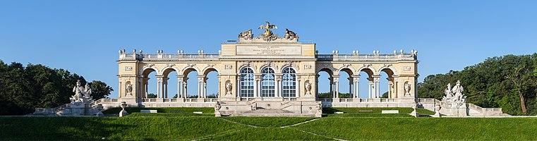 Gloriette in Vienna, Austria