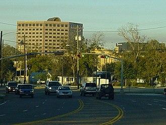 Victoria, Texas - Downtown Victoria in December 2007