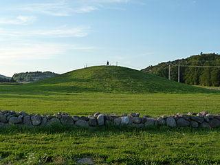 Gokstad Mound Burial mound in Norway