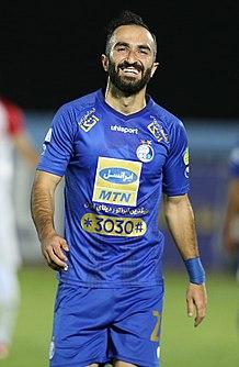 Dariush Shojaeian Iranian footballer