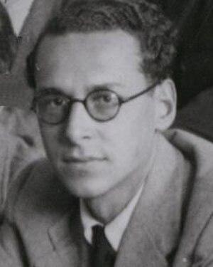 Maurice Goldhaber - Image: Goldhaber,Maurice 1937
