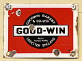 Good-Win Leicester, Enamel advert sign at the den hartog ford museum pic-005.JPG