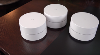 A mesh-capable wireless router developed by Google
