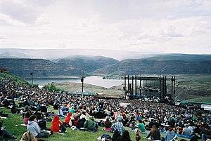The Gorge Amphitheatre - Image: Gorge Amphitheatre