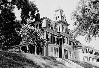 Joseph R. Bodwell - Image: Gov. Joseph R. Bodwell House Hallowell Maine HABS cropped
