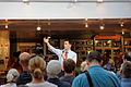Governor of Wisconsin Scott Walker (and Scott Brown) at Seacoast Harley Davidson in North Hampton NH on July 16th 2015 by Michael Vadon 03.jpg