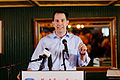 Governor of Wisconsin Scott Walker at Belknap County Republican LINCOLN DAY FIRST-IN-THE-NATION PRESIDENTIAL SUNSET DINNER CRUISE, Weirs Beach, New Hampshire May 2015 by Michael Vadon 09.jpg