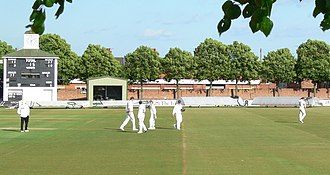 Grace Road - Image: Grace Road Cricket Ground 2 geograph 1942712