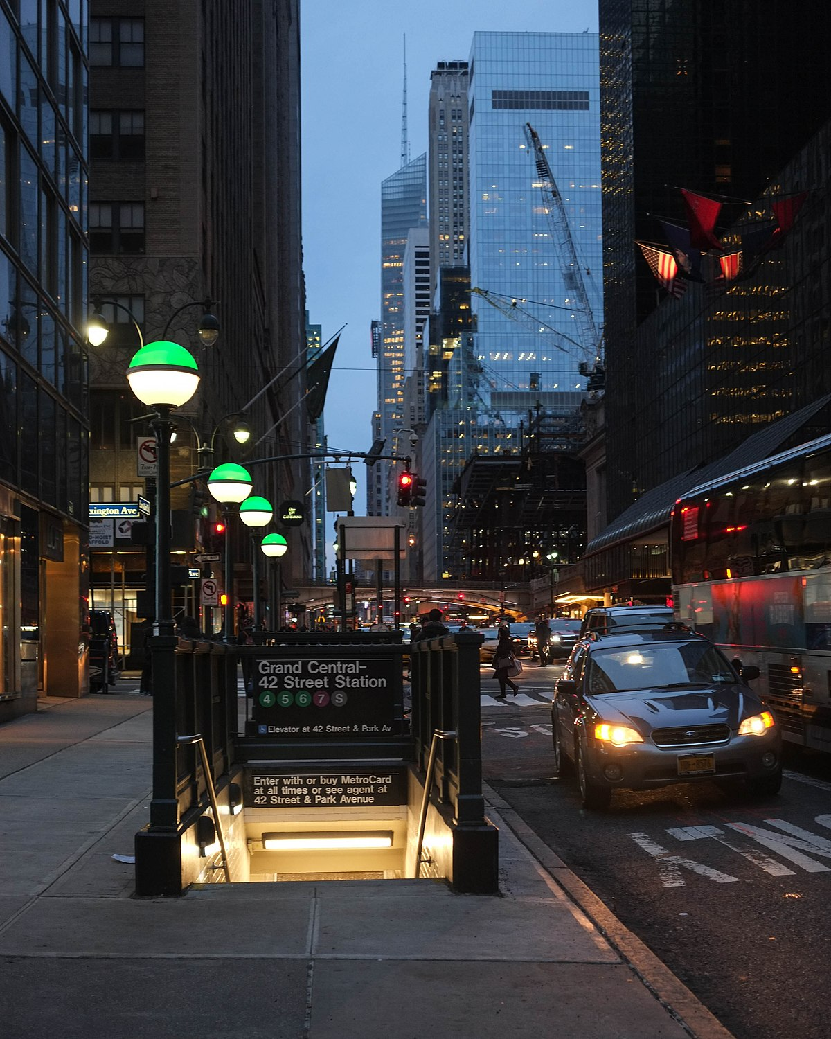 26a76be25c05 Grand Central–42nd Street (New York City Subway) - Wikipedia