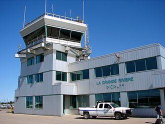 La Grande Rivière Airport - Image: Grande Rivière Airport
