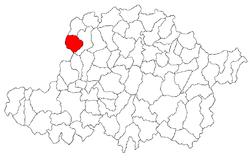 Vị trí của Graniceri