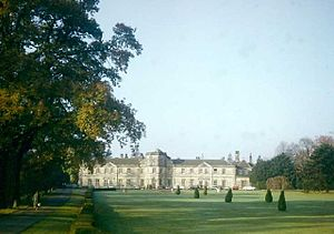 Grantley Hall - Grantley Hall, looking on the front of the grand property