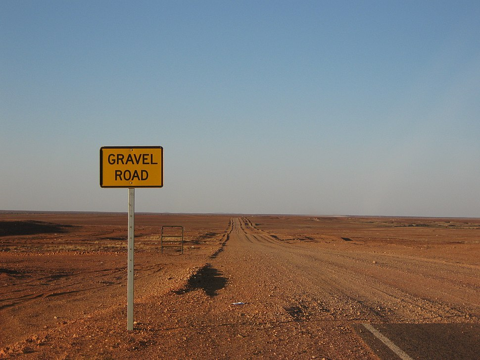 Gravel Road Coober Pedy