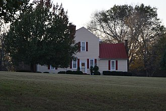 National Register of Historic Places listings in Caswell County, North Carolina - Image: Graves House, Yanceyville