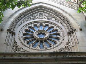 Great Synagogue (Sydney) - Image: Great Synagogue, Sydney Window
