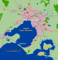 Greater Melbourne Map - May 2008 rus.png